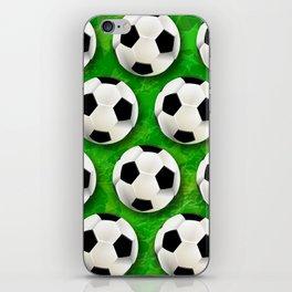 Soccer Ball Football Pattern iPhone Skin