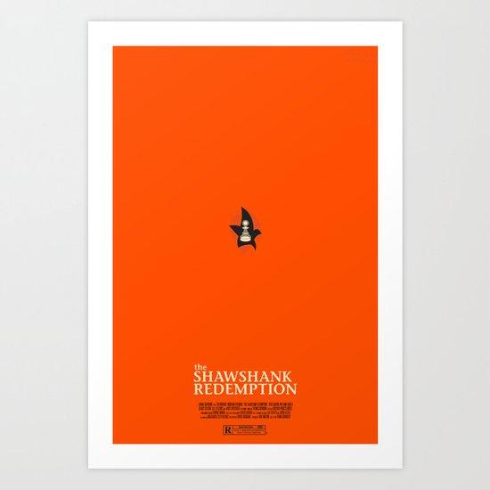 the shawshank redemption. Art Print