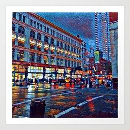 Chelsea at Dusk Art Print
