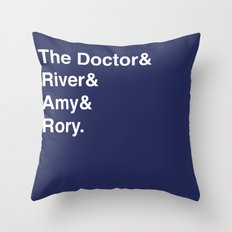 Doctor& Throw Pillow