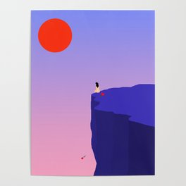 Cliff//Rose Poster
