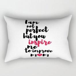 Mom Inspiration Rectangular Pillow