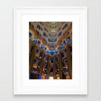 arab Framed Art Prints featuring Inside Burj al Arab by screenplay-K