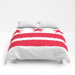 Flag of the District of Columbia - Washington D.C authentic version Comforters