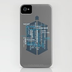 Doctor Who: Friends and Enemies Slim Case iPhone (4, 4s)