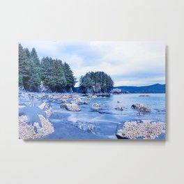 Spring Beach Photography Print Metal Print