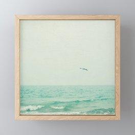 Lone Bird Framed Mini Art Print