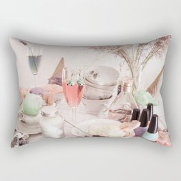 Ice Cream Tea Rectangular Pillow