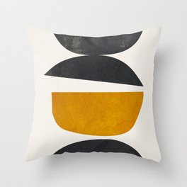 abstract minimal 23 Throw Pillow