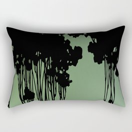 Forest Silhouette by Seasons K Designs Rectangular Pillow