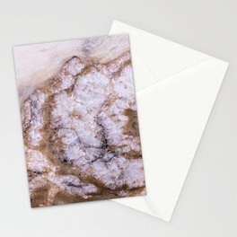 Polished Marble Stone Mineral Abstract Texture 30 Stationery Cards