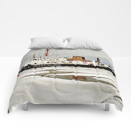 Biscayne Bay USCG Cutter Comforters
