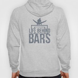 Cool Gymnastics Life Behind Bars Leotard Gray Unisex Shirt Hoody
