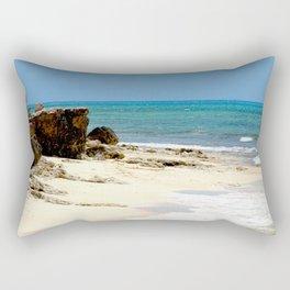 Grand Turk Beach Rectangular Pillow