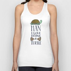 Being A Turtle Unisex Tank Top