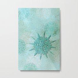 diamond dust Metal Print