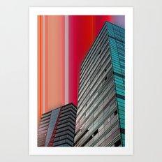 Gran Via Bcn Art Print