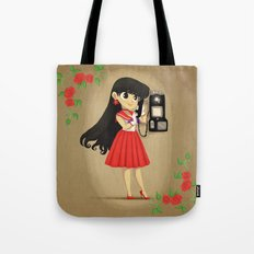 Retro Sailor Mars Tote Bag