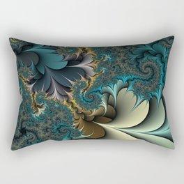 Birds of a Feather Fractal Rectangular Pillow