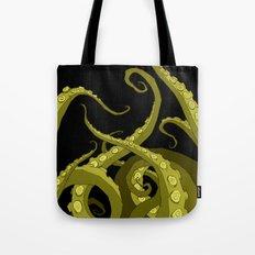 Subterranean Green Tote Bag