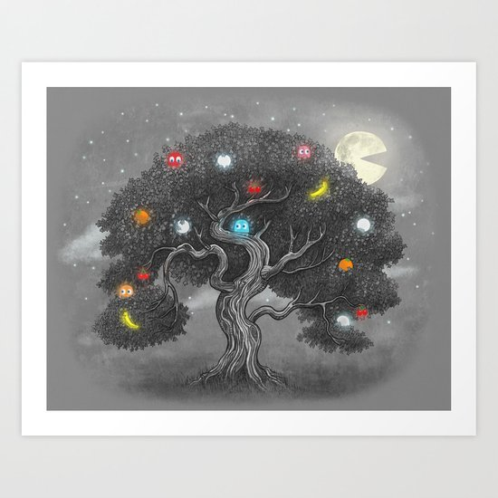 Midnight Snack  Art Print