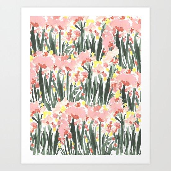 Ugly Garden Art Print