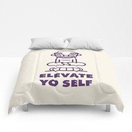Elevate Yo Self Comforters