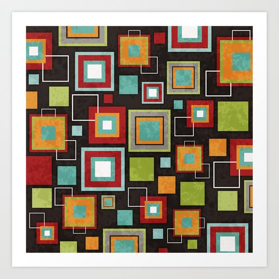 Oh So Retro! Art Print