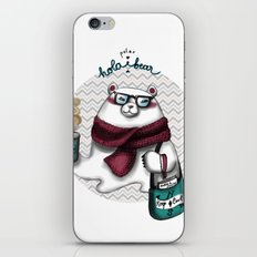 Hola Pola' iPhone & iPod Skin