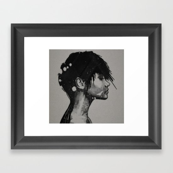 err Framed Art Print