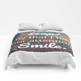smile... Comforters