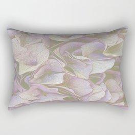 FADED HYDRANGEA CLOSE UP Rectangular Pillow