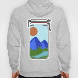 Nature in a jar Hoody