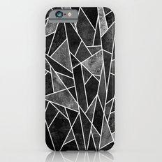 Shattered Black iPhone 6 Slim Case