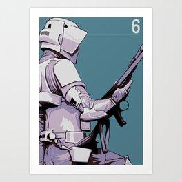 Episode 6 Art Print
