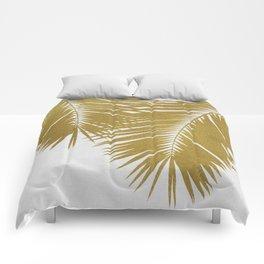 Palm Leaf Gold II Comforters