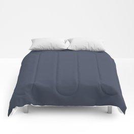 Behr Paint Dark Navy Blue S350-7 Trending Color 2019 - Solid Color Comforters