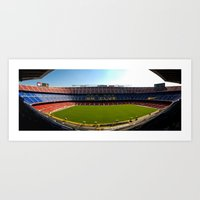 FC Barcelona - Nou Camp Art Print