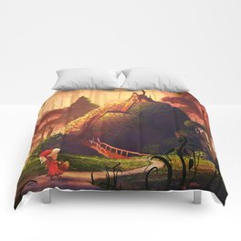 The Little Red Riding Hood Comforters