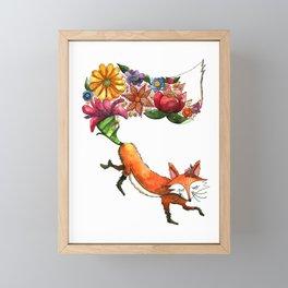 Hunt Flowers Not Foxes One Framed Mini Art Print