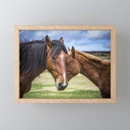 Mother and son Framed Mini Art Print