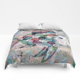 Rainbow Fish Collage Comforters