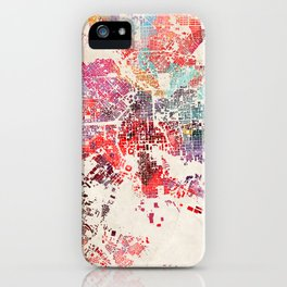 Baltimore map iPhone Case