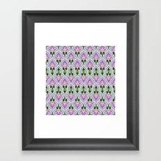Lotus Flower Framed Art Print