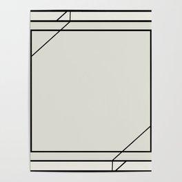 Art Deco Frame Poster