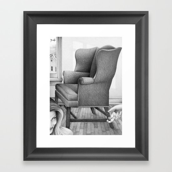 the best thing that ever happened to me was yesterday Framed Art Print