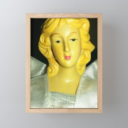 The Christmas Angel Framed Mini Art Print