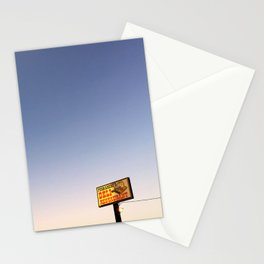Ferrarese's Deli Sign – Oakdale, California, USA Stationery Cards