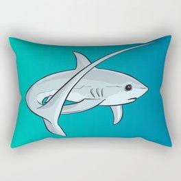Adorable Cute Thresher Shark Rectangular Pillow