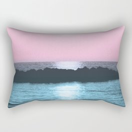 Sunset Ocean Bliss #5 #nature #art #society6 Rectangular Pillow